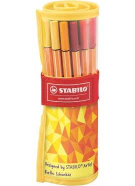 Stabilo Point 88 Rollerset Fan Editie