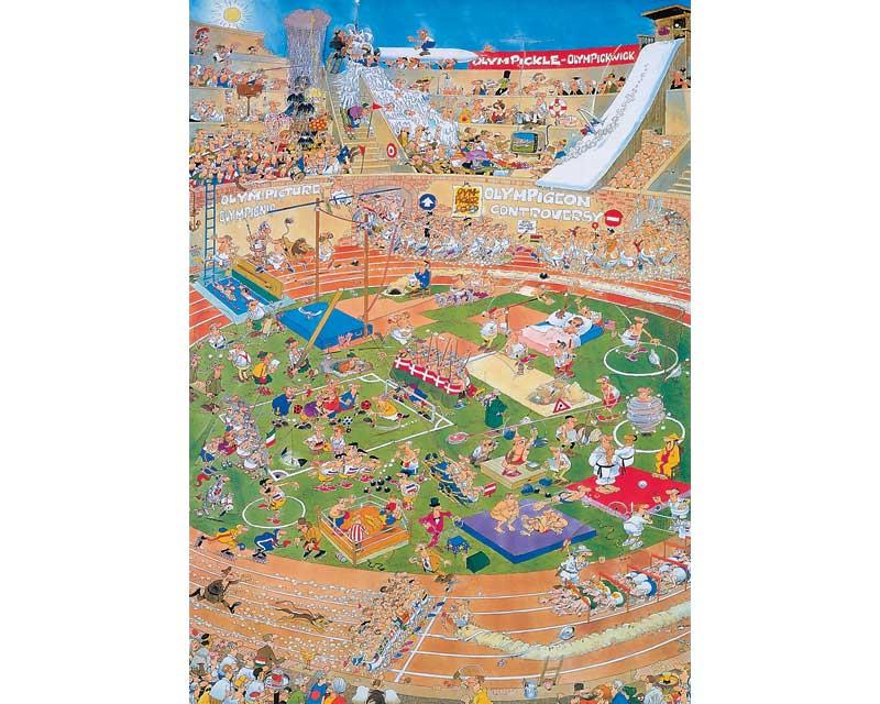Jan van Haasteren: Olympische Spelen (1000)