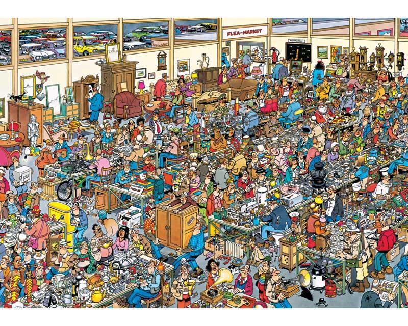 Jan van Haasteren: Op zoek naar de schat (1000)