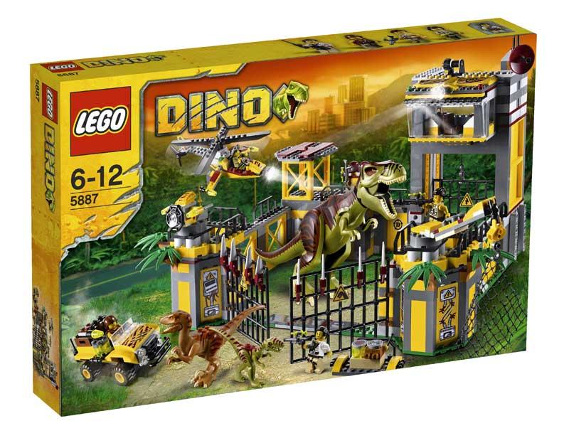 Dino verdedigingsbasis *